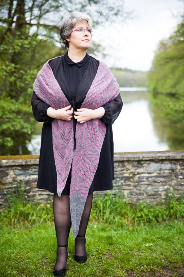 Meandres Shawl by ChristalLK